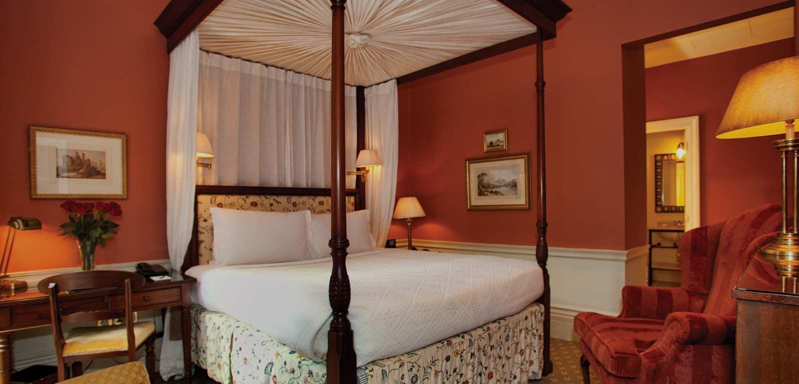 Luxury Hotel Room of Roseate London