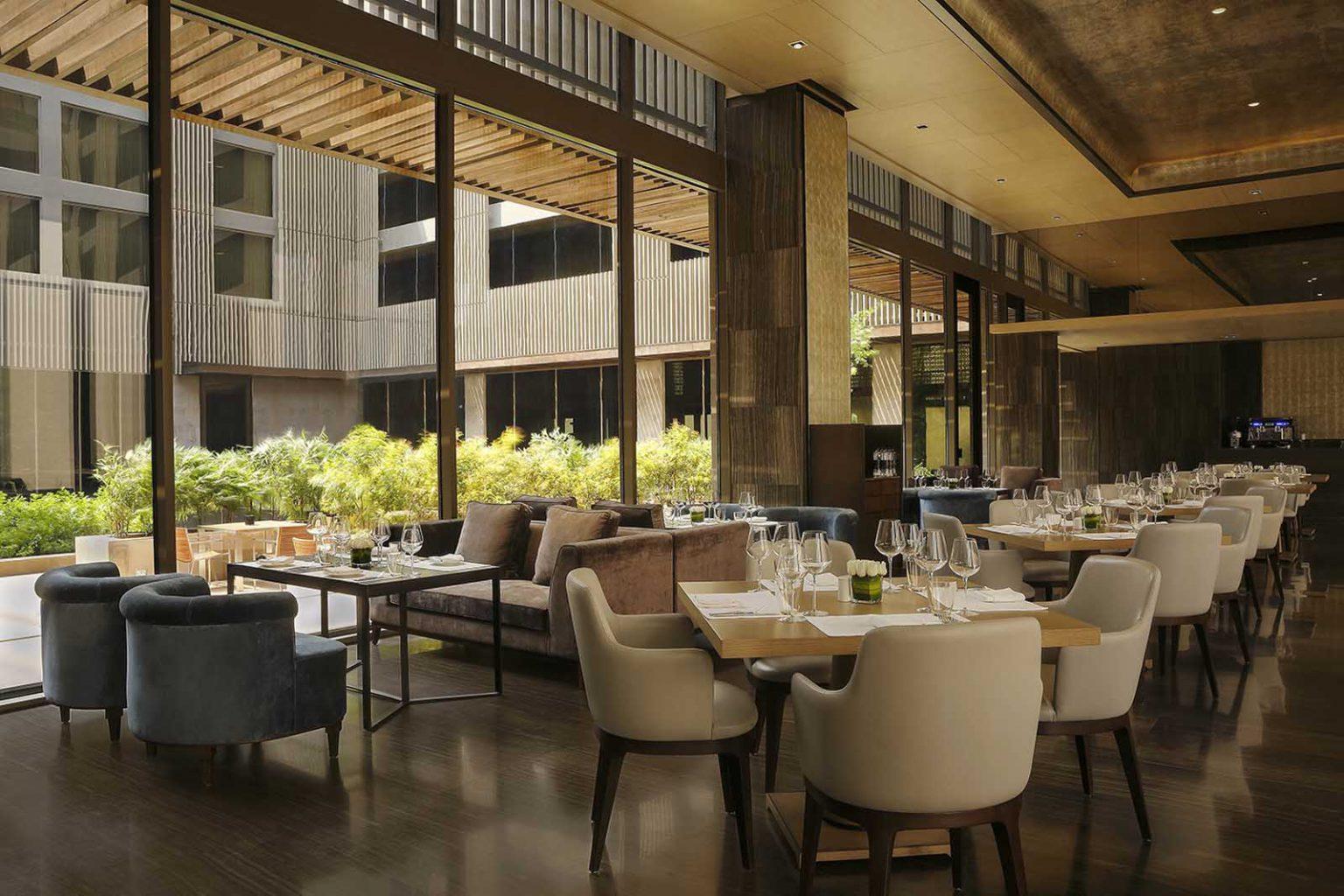Fine dining hotels in Delhi