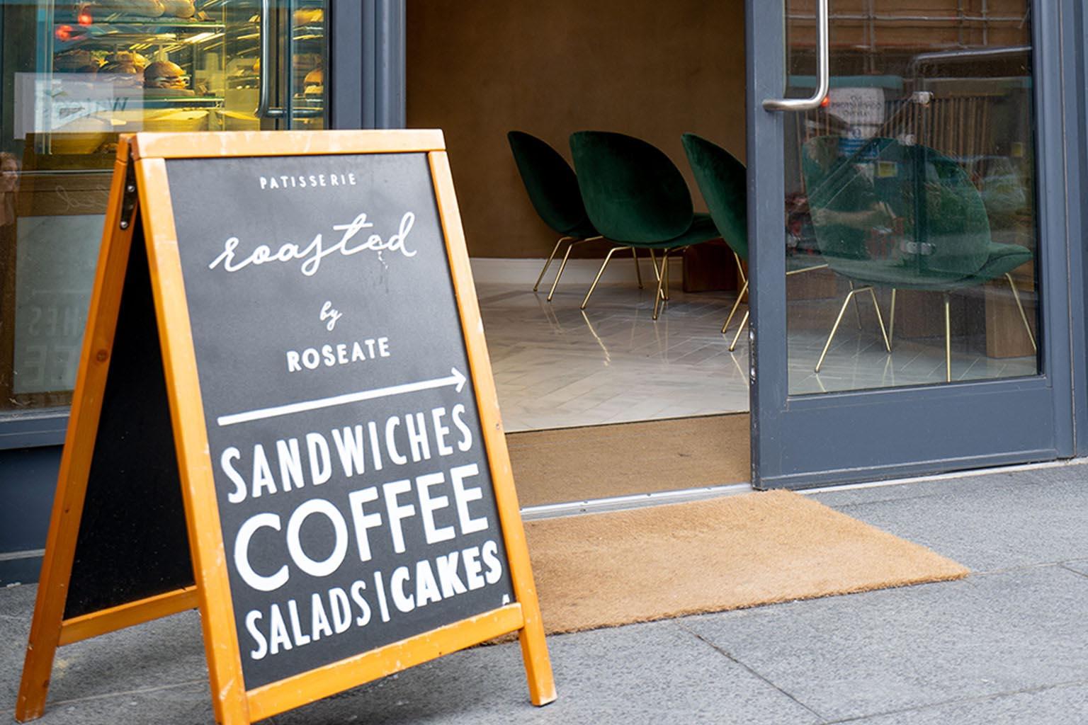 Sandwiches Breakfast & Coffee in The Roseate Hotel Reading